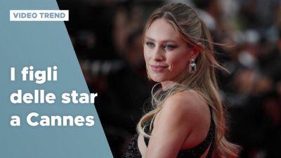 Cannes 2021, i figli delle star sul red carpet