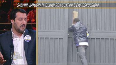 Matteo Salvini: blindiamo i confini