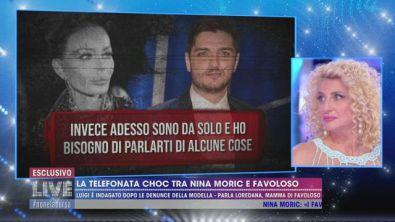 La telefonata choc tra Nina Moric e Favoloso