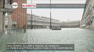 Venezia seconda allerta rossa