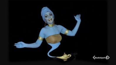 Un'illusionista della pelle
