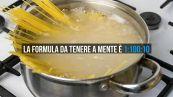 Quanto sale mettere nell'acqua della pasta? La formula perfetta