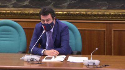 Salvini: su riaperture sì a linea Draghi, ma se è giallo è giallo