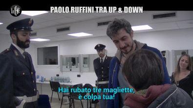 """CORTI E ONNIS: Paolo Ruffini tra """"Up&Down"""": lo scherzo de Le Iene"""