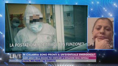 In Calabria sono pronti a un'eventuale emergenza?