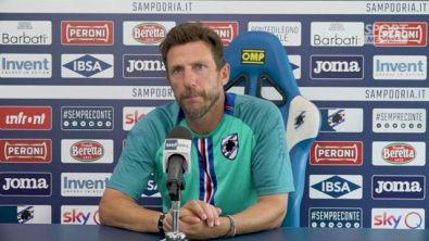 """Di Francesco: """"Sampdoria in crescita, passare il turno è importante"""""""