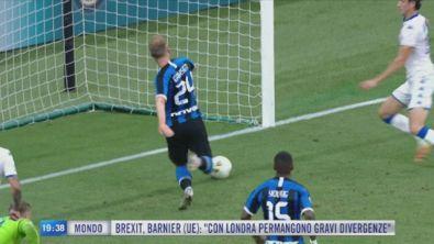 L'Inter ingrana la seconda e torna convincente