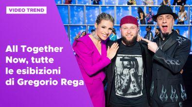 All Together Now, tutte le esibizioni del vincitore Gregorio Rega