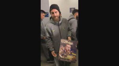 Boca Juniors, un premio dei tifosi per De Rossi