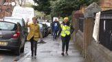Elezioni in Scozia, la prima ministra Nicola Sturgeon visita un seggio