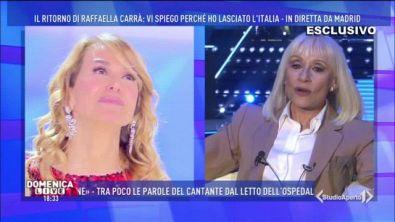"""Raffaella Carrà: """"Lascio il passo ai giovani"""""""