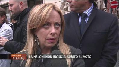 """Giorgia Meloni: """"Nessun inciucio"""""""