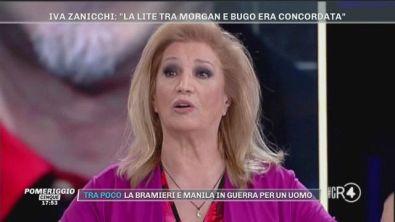 Lite Morgan - Bugo: l'opinione di Iva Zanicchi