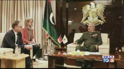 Sforzi diplomatici per risolvere crisi libica