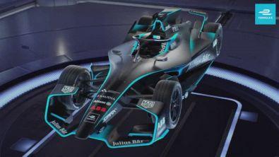 La nuova Formula E arriva dallo spazio