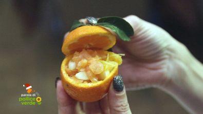 Tartare in cesto di clementina