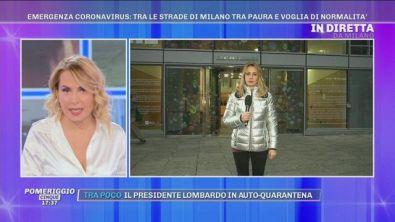 Emergenza Coronavirus: tra le strade di Milano tra paura e voglia di normalità