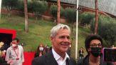 """Festa di Roma, fan cantano a Claudio Baglioni """"sei bellissimo"""""""