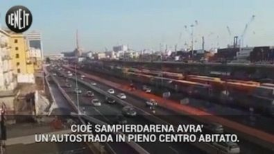 """Genova: """"Noi di Sampierdarena, ostaggi di traffico, rumore e smog"""""""
