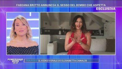 Fabiana Britto annuncia il sesso del bimbo che aspetta