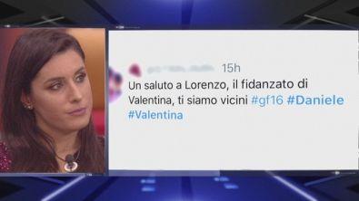 I dubbi di Valentina sul fidanzato