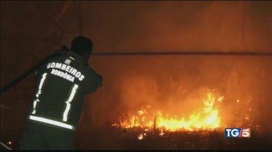 L'Amazzonia è in fiamme tutti contro Bolsonaro