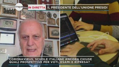 Covid-19: Scuola, parla Mario Rusconi