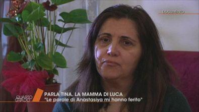 La madre di Luca Sacchi