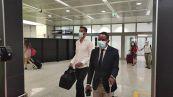 Roma, arriva a Fiumicino Rui Patricio, il portiere di Mourinho