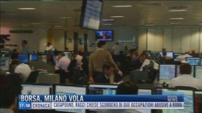 Breaking News delle 18.00 | Borsa Milano vola