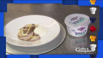 Vitello sedano e capperi allo yogurt
