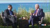 Il G7 chiude col clima, sintonia Draghi-Biden