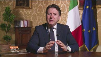 Giuseppe Conte e il richiamo all'Europa