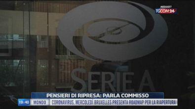Serie A, ipotesi e conflitti sul ritorno in campo