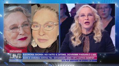 Il lifting di Eleonora Giorgi