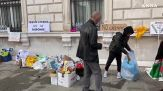 Trieste, i No green pass liberano piazza Unita'