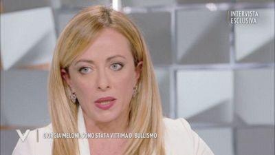 Giorgia Meloni vittima di bullismo