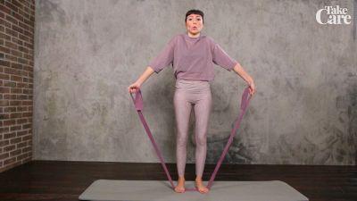 Pilates: Esercizi con l'elastico