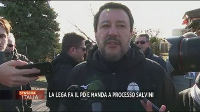 Matteo Salvini vuole il processo