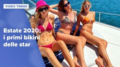 Estate 2020: i primi bikini delle star