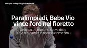 Paralimpiadi, Bebe Vio vince l'oro nel fioretto