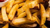 L'olio perfetto per friggere le patatine fritte in casa