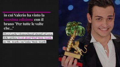 Valerio Scanu: la carriera del cantante