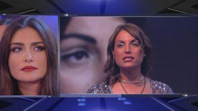 Il confronto tra Ambra e Francesca