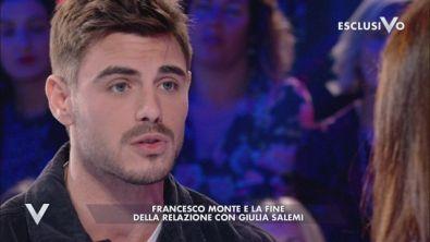 Francesco Monte: la rottura con Giulia Salemi