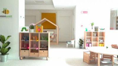 L'Ad di Terna Donnarumma inaugura nuovo asilo aziendale Miniwatt