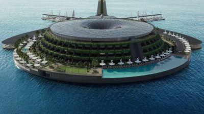 L''eco-hotel' che ruota su se stesso e genera energia