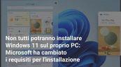 Windows 11: quali PC non verranno mai aggiornati