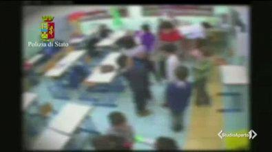 Maestra violenta smascherata dalle telecamere nascoste
