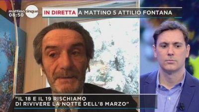 Attilio Fontana: rischio di fughe